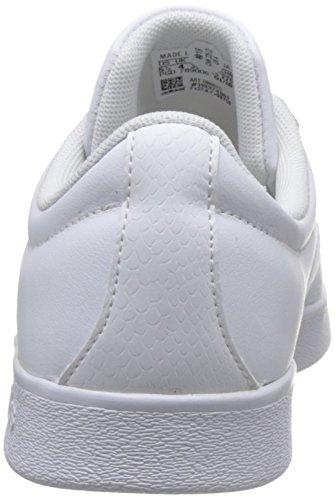 Adidas Mujeres Salieron De La Corte De 2,0 W Zapatos De Fitness, Negro (ftwbla / Ftwbla / Plamat 000)