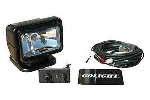 Golight Radioray Spotlight - Wired Dash Mount Remote - 750' Spot Beam - Permanent Mount - 12V