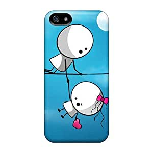 High Grade LastMemory Flexible Tpu Case For Iphone 5/5s - I Wont Let You Down