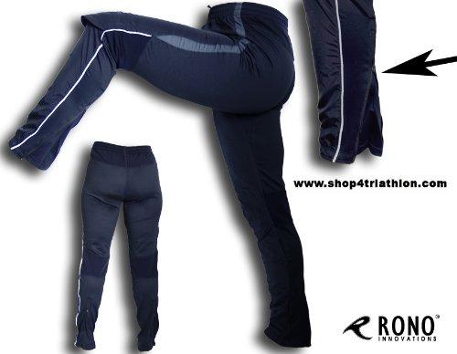 Winddichte warme REGUBLOCK Laufhose von Rono für Damen