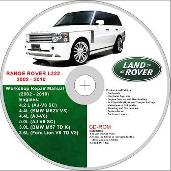 range rover land rover l322 2002 2010 service repair manual amazon rh amazon co uk 2002 range rover rave manual 2002 land rover discovery manual