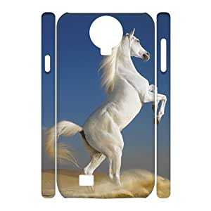 QNMLGB Hard Plastic of Horse Cover Phone Case For Samsung Galaxy S4 i9500 [Pattern-4]