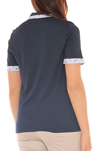 Para Shavien Clarin Oscuro Mujer Camiseta Azul qgExnBRPYw