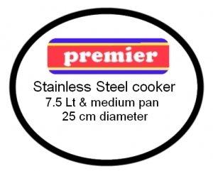 Premier Stainless Steel Pressure Cooker Gasket (7.5lt)