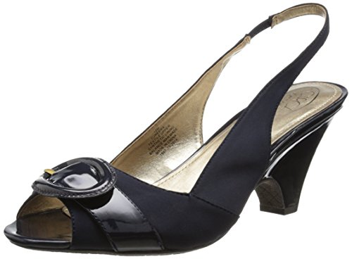Circa Joan & David Women's Neera Dress Sandal, Navy, 9 M US