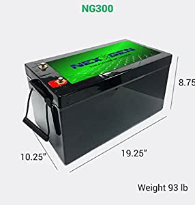 Amazon Com Nexgen 12v Lithium Ion Battery 12v 300ah