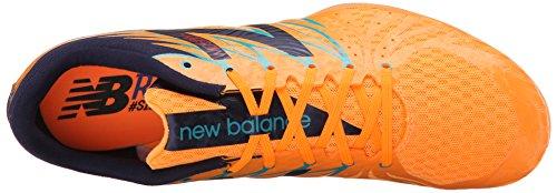 New Balance Mens Mmd500v4 Spikskor Sko Apelsin Pop Med Svart / Atlantisk