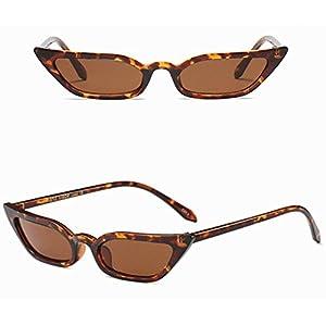 Clearance! Kstare Women's Fashion Sunglasses Retro Small Frame UV400 Eyewear Polarized Vintage Sun Glasses (Brown)