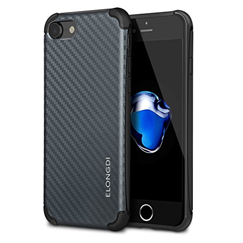 iphone-7-caseelongdi-ultra-thin-anti-scratch-ultra-light-with-shockproof-corner-iphone-7-cover-carbo