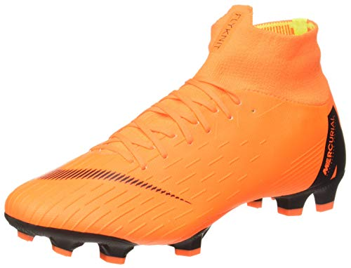 Nike Superfly 6 Pro FG Firm-Ground Soccer Cleat (10, Orange/Black) (Orange Nike Soccer Cleats)