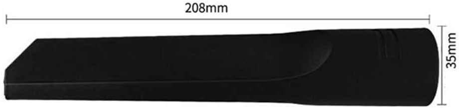 Aiming 35 millimetri Universale Aspirapolvere Parte collettore di polveri del collettore di aspirazione a Testa Piatta spazzatrice di Vuoto ugello