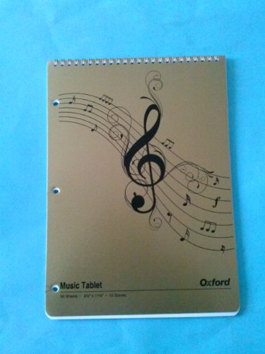 Esselte Music Tablet 26-170 50 Sheets 8 1/2