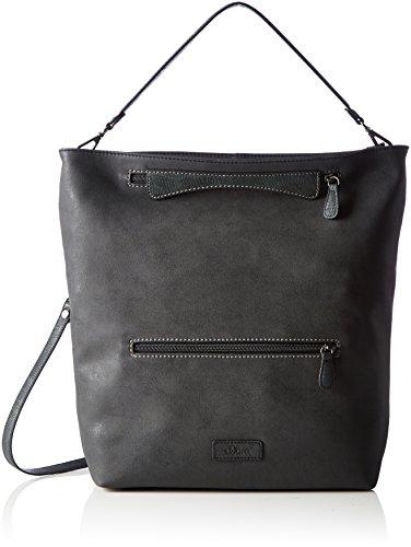 s.Oliver (Bags) Shoulder Bag - Borse a spalla Donna, Schwarz (Black), 10x38x38 cm (B x H T)