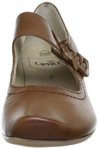 Caprice 9-9-24301-20 Damen Slipper Braun (Cognac)