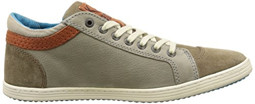 gris Taupe Kickers Amasarys Baskets Basses Homme Gris 60q6nXYwr