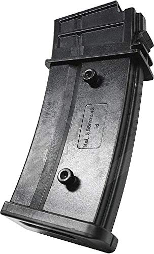 Evike 120 Round Mid-Cap Magazine for G36 SL9 XM8 Series Airsoft AEG (Package: Single Magazine)