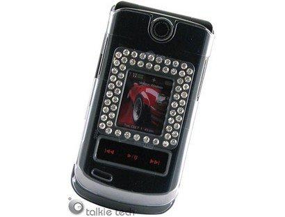 Diamond Protector Cover Case Transparent Smoke For LG VX8600