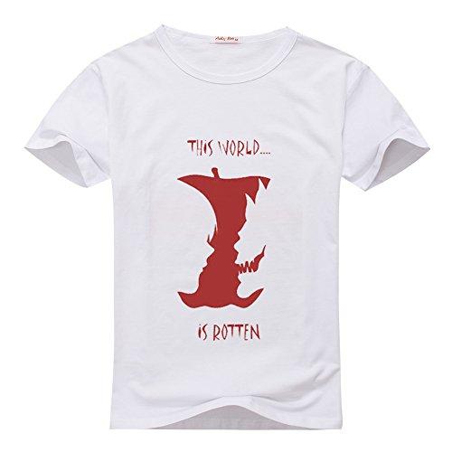 YNFYC Death Note Presley Logo Women's Classic T-shirt Medium White