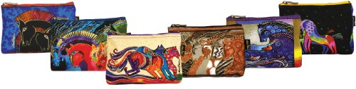 Canvas Corp Cosmetic Bag Zipper Top Assortment, 9 by 1 by 6-Inch, Horse Designs (Styles may Vary) ()