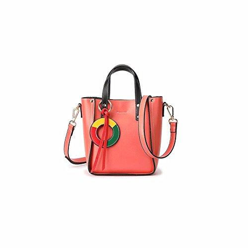 2012 Nueva Moda Satchel, bucket bag, verano Tassel Shoulder Bag,Khaki De Gules