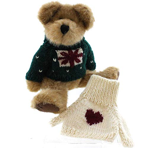 Boyds Bears Plush CASIMIR B BEAN 94858GCC Christmas Valentines Day