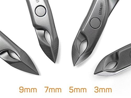 Stainless Steel FINOX standard cuticle nippers, 5mm jaw. Made by GERmanikure in Germany by GERmanikure (Image #4)