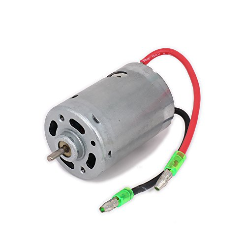 540 Electric Brushed Motor for 1/10 HSP Wltoys Tamiya RC Hobby Model Car/Boat/Airplane On-Road Truck Buggy Hi Speed Replacement Original ()