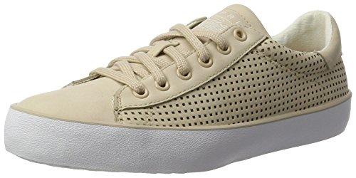 Esprit Damen Mandy Lace Up Sneakers Beige (280 Huid Beige)
