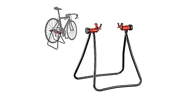 YWAWJ Soporte for Bicicletas, Altura Ajustable, Plegable mecánico ...