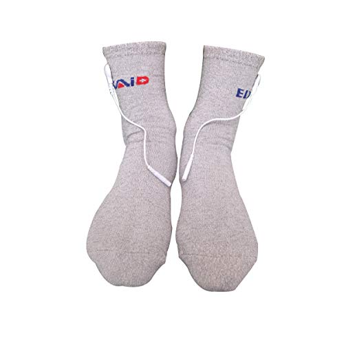 1 Pairs Conductive Massage Socks physiotherapy electrotherapy electrode Sock