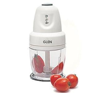 Glen 250 Watt Multi Functional Mini Vegetable Chopper Capacity 400 ml White ( SA4043 )