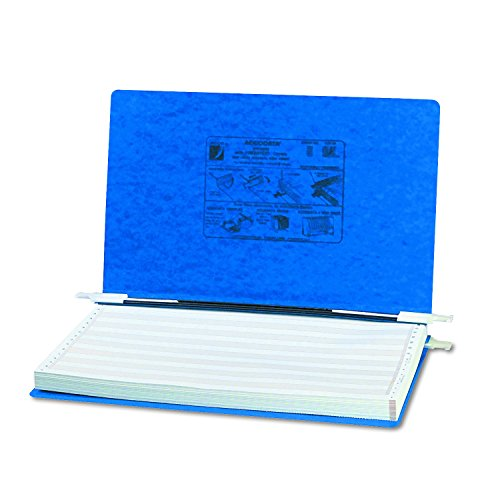 ACCO Pressboard Hanging Data Binder, Unburst Sheets, 14.87 x 8.5 Inches, Dark Blue ()