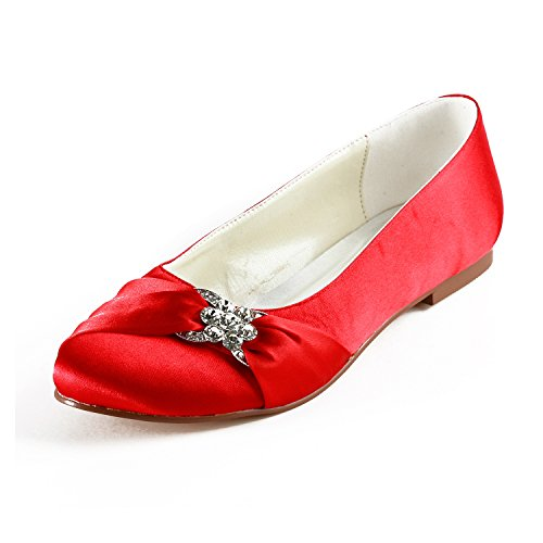Red Heel Col Donna Minitoo 1cm Tacco Scarpe 6IHUqwq7