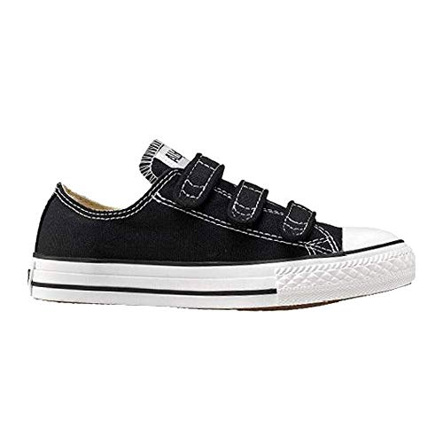 Converse Kids Chuck Taylor All Star 3 Strap (Little Kid), Black, M ()