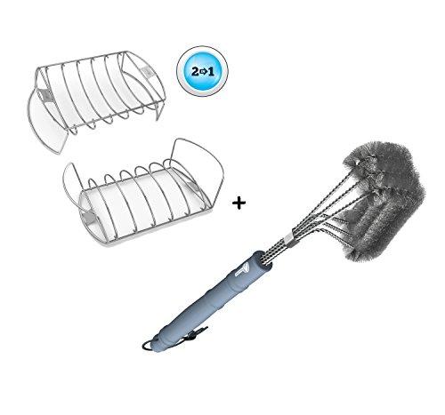 Rib Roast Rack Grill Brush