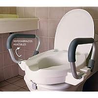 OrtoPrime Elevador WC con Reposabrazos Abatibles | Altura