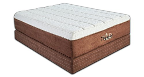 - DynastyMattress NEW Luxury Grand 15-Inch with 7.5-Inch Memory Foam Mattress, Eastern King Size