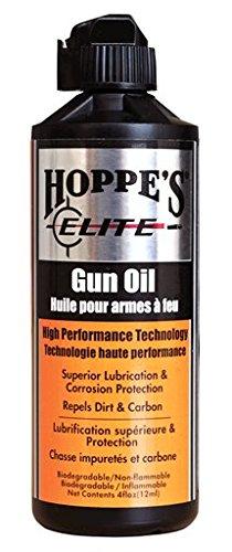 Hoppes Elite Gun Oil, 4-Ounce Bottle