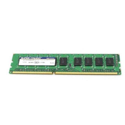 - Super Talent DDR3-1333 4 GB/256x8 ECC Micron Server Memory - Bulk W1333EB4GM