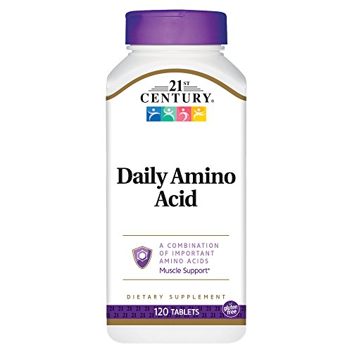 21st Century Daily Amino Acid Tablets, 120 Count For Sale