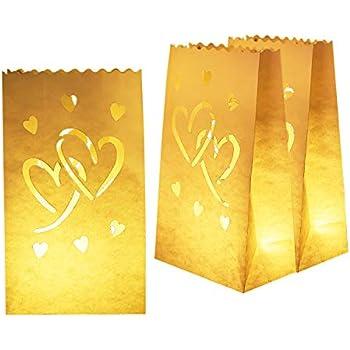 Amazon.com: DECARETA - 30 paquetes de bolsas de papel para ...