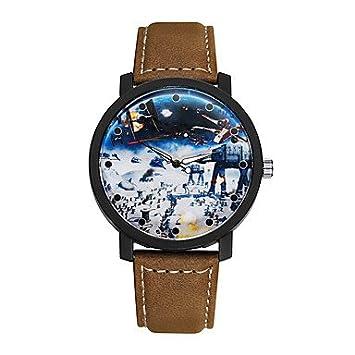 fenkoo Hombre Mode Reloj Quartz Relojes de pulsera banda para el Día a Día de aleación