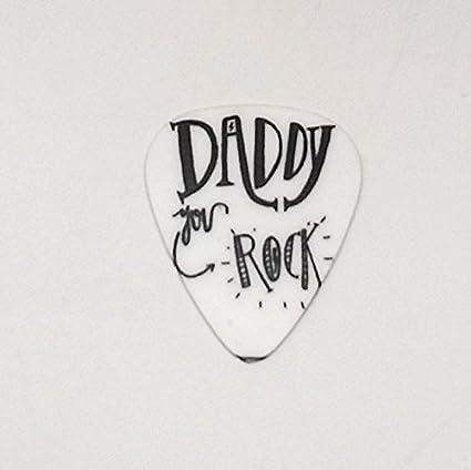 Púa de Guitarra Plectrum Daddy You Rock de plástico para Musical ...