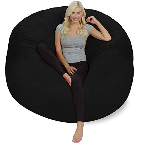 41mrZbBbTJL - Chill-Sack-Bean-Bag-Chair-Giant-6-Memory-Foam-Furniture-Bean-Bag-Big-Sofa-with-Soft-Micro-Fiber-Cover