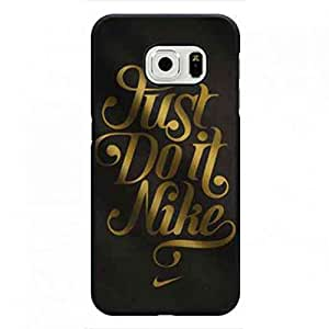 Samsung Galaxy S6 edge Case Cover,Samsung Galaxy S6 edge funda,The Logo Of Nike Just Do It funda