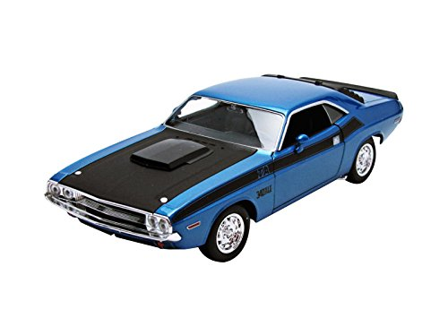 1970 Dodge Challenger T/A Blue 1/24 by Welly 24029 by Welly
