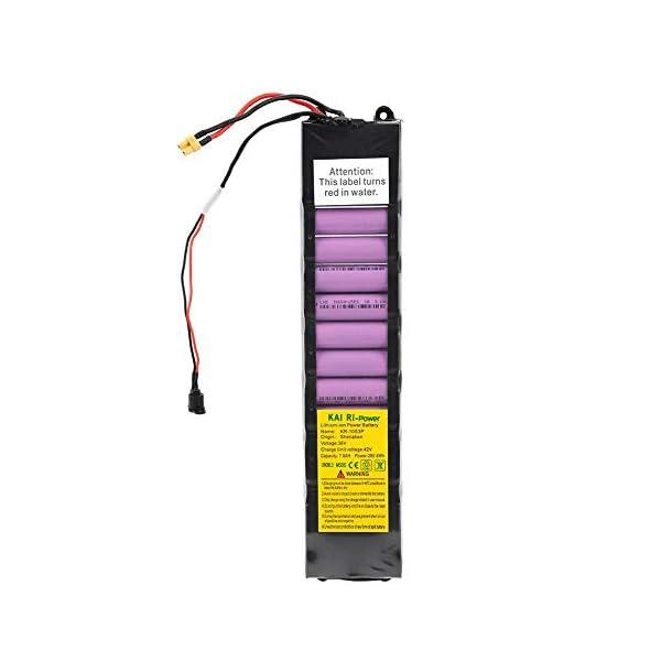 Keenso Battery Pack, 36V 7800mah Intellligent Scooter Battery Pack per Xiaomi M365 Scooter Elettrico con Batteria al Litio 7 spesavip