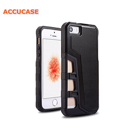 Iphone 5 Case, Iphone 5S Case,Iphone SE Case,[New Ring King Series][ACCUCASE] [Extra Front Finger ]Soft TPU & Hard PC Bumper Anti-slip Case Cover for Apple iphone 5/5S/SE (Park Bedroom Series)