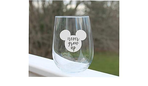Copas de vino grabadas de Disney, copas de vino grabadas de Disney, copas de vino grabadas de Disney: Amazon.es: Hogar