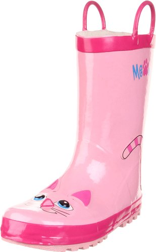 Western Chief Pink Kitty Rain Boot (Toddler/Little Kid/Big Kid)